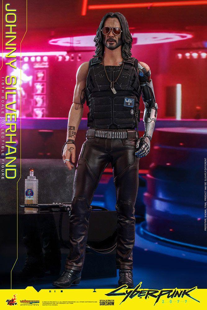 Figurine Cyberpunk 2077 Video Game Masterpiece Johnny Silverhand 31cm 1001 Figurines (10)