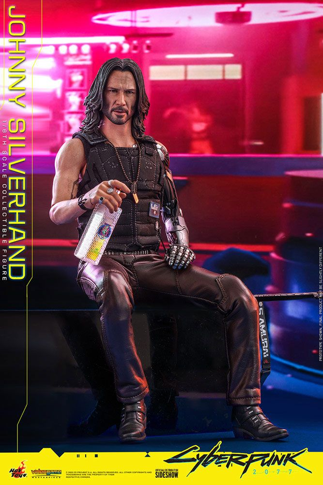 Figurine Cyberpunk 2077 Video Game Masterpiece Johnny Silverhand 31cm 1001 Figurines (11)