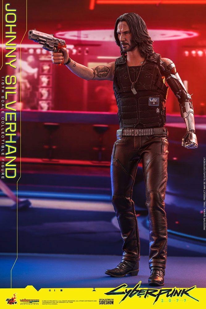 Figurine Cyberpunk 2077 Video Game Masterpiece Johnny Silverhand 31cm 1001 Figurines (12)