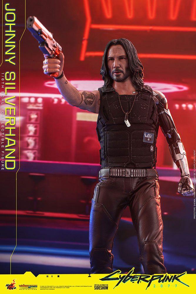 Figurine Cyberpunk 2077 Video Game Masterpiece Johnny Silverhand 31cm 1001 Figurines (13)