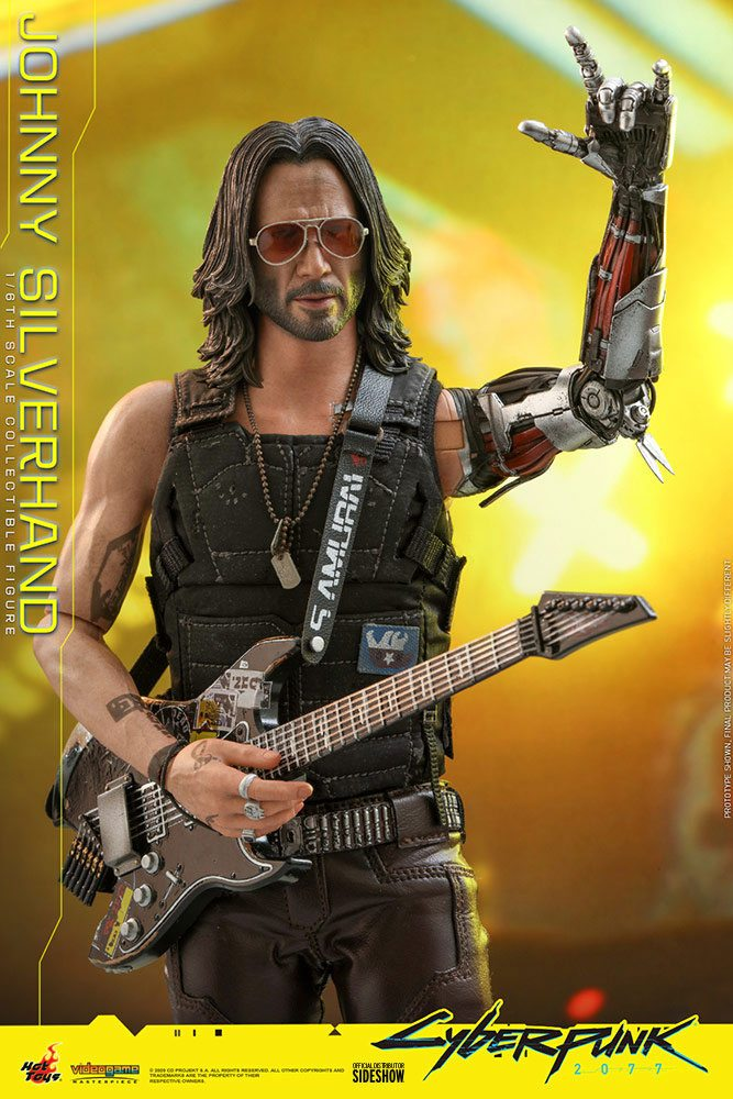 Figurine Cyberpunk 2077 Video Game Masterpiece Johnny Silverhand 31cm 1001 Figurines (15)