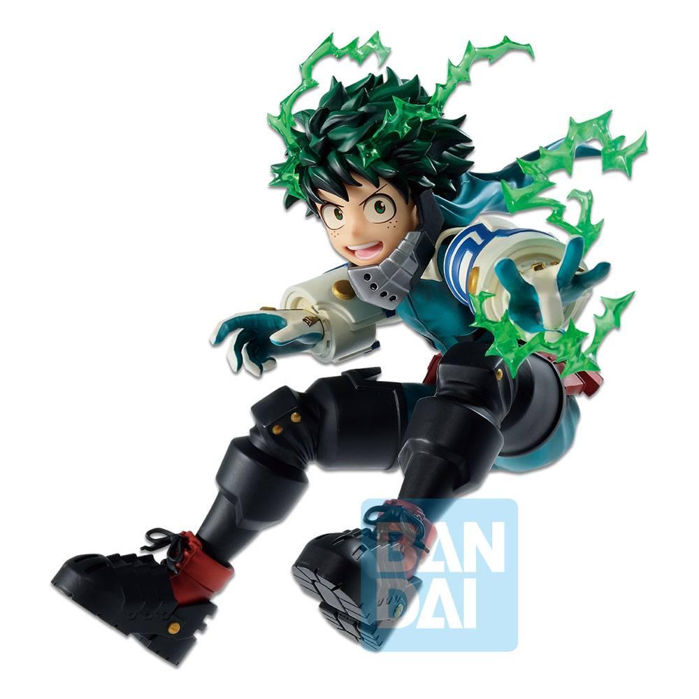 Statuette My Hero Academia Ichibansho Izuku Midoriya Go and Go! 15cm