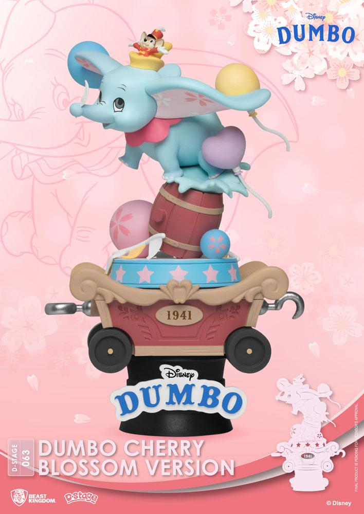 Diorama Disney D-Stage Dumbo Cherry Blossom Version 15cm 1001 Figurines (1)