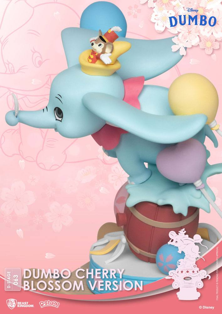 Diorama Disney D-Stage Dumbo Cherry Blossom Version 15cm 1001 Figurines (6)