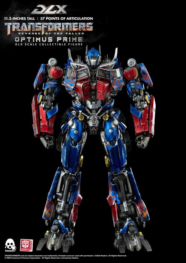 Figurine Transformers 2 La Revanche DLX Optimus Prime 28cm 1001 Figurines (1)