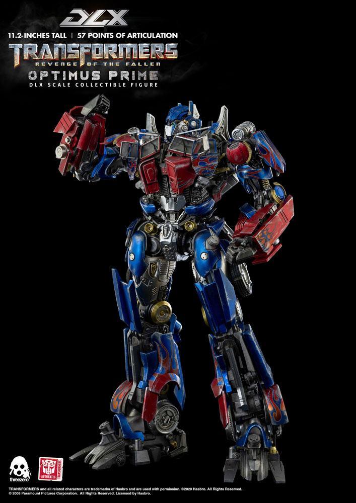 Figurine Transformers 2 La Revanche DLX Optimus Prime 28cm 1001 Figurines (3)