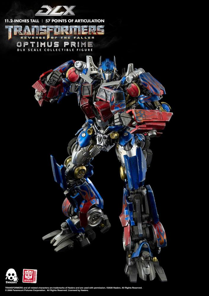 Figurine Transformers 2 La Revanche DLX Optimus Prime 28cm 1001 Figurines (4)