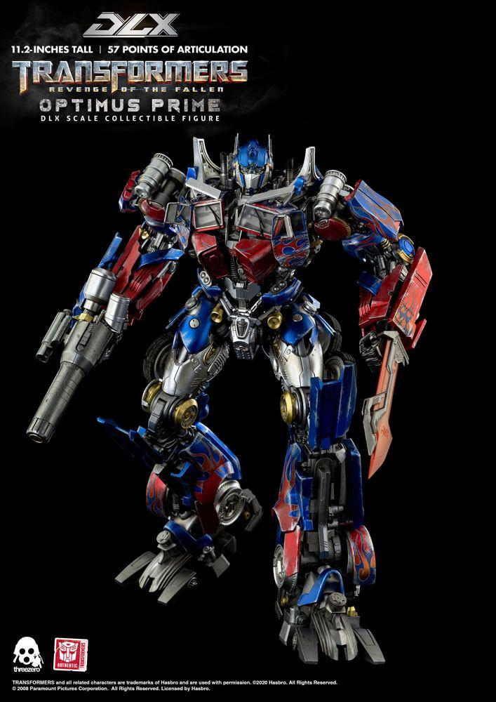 Figurine Transformers 2 La Revanche DLX Optimus Prime 28cm 1001 Figurines (7)