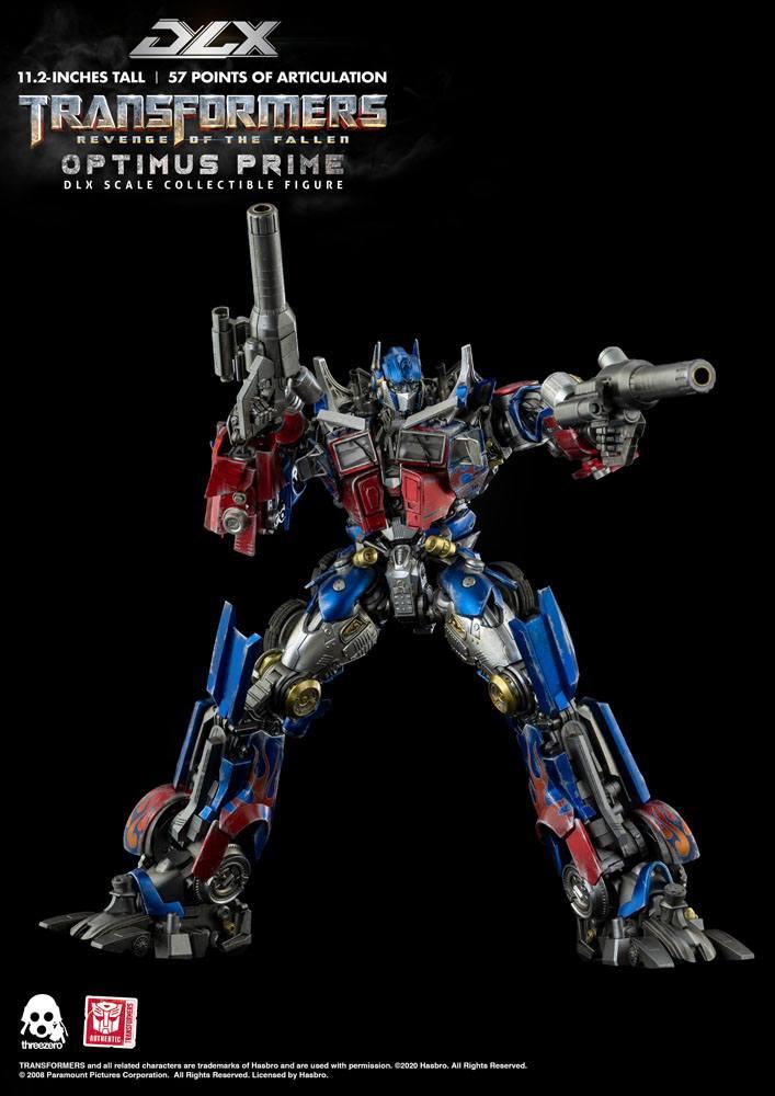 Figurine Transformers 2 La Revanche DLX Optimus Prime 28cm 1001 Figurines (11)