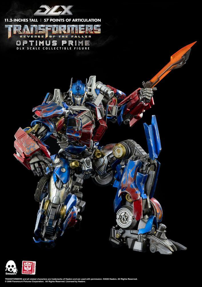 Figurine Transformers 2 La Revanche DLX Optimus Prime 28cm 1001 Figurines (12)