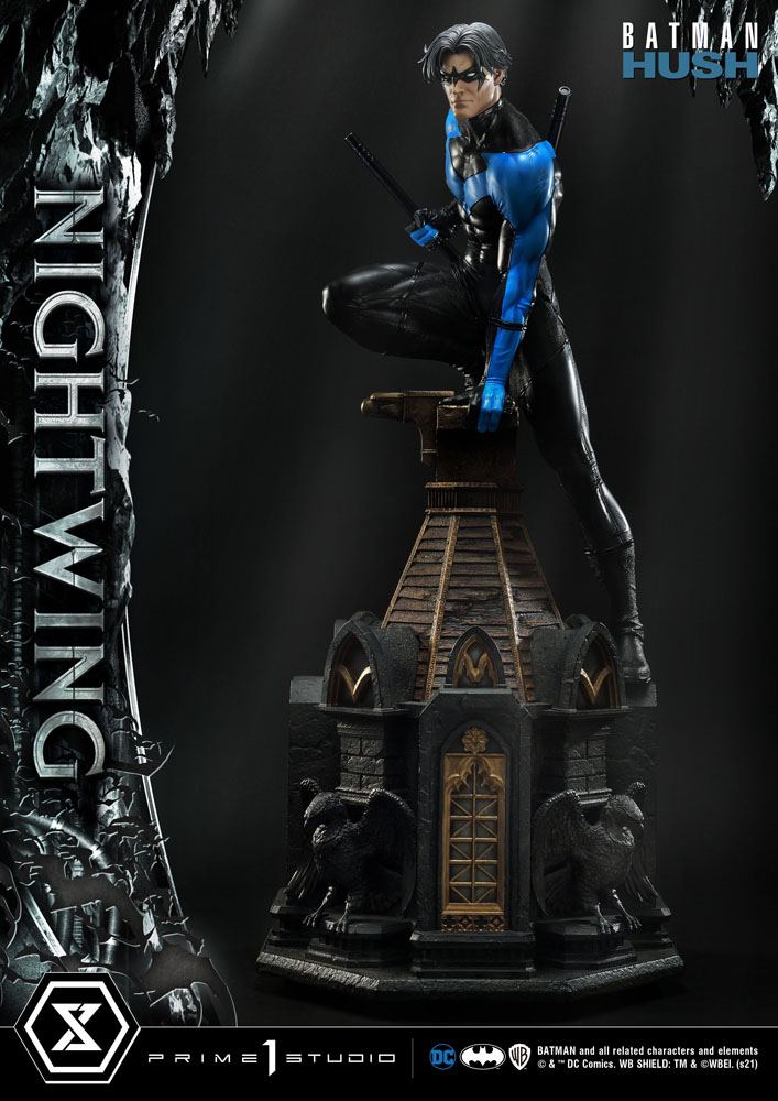 Statue Batman Hush Nightwing 87cm 1001 Figurines (5)