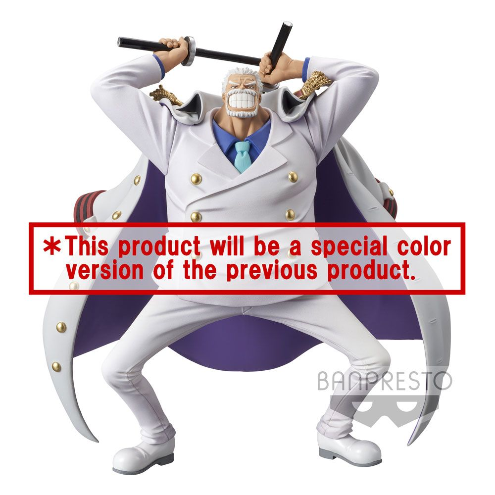 Statuette One Piece magazine Monkey D. Garp Special Color Version 16cm