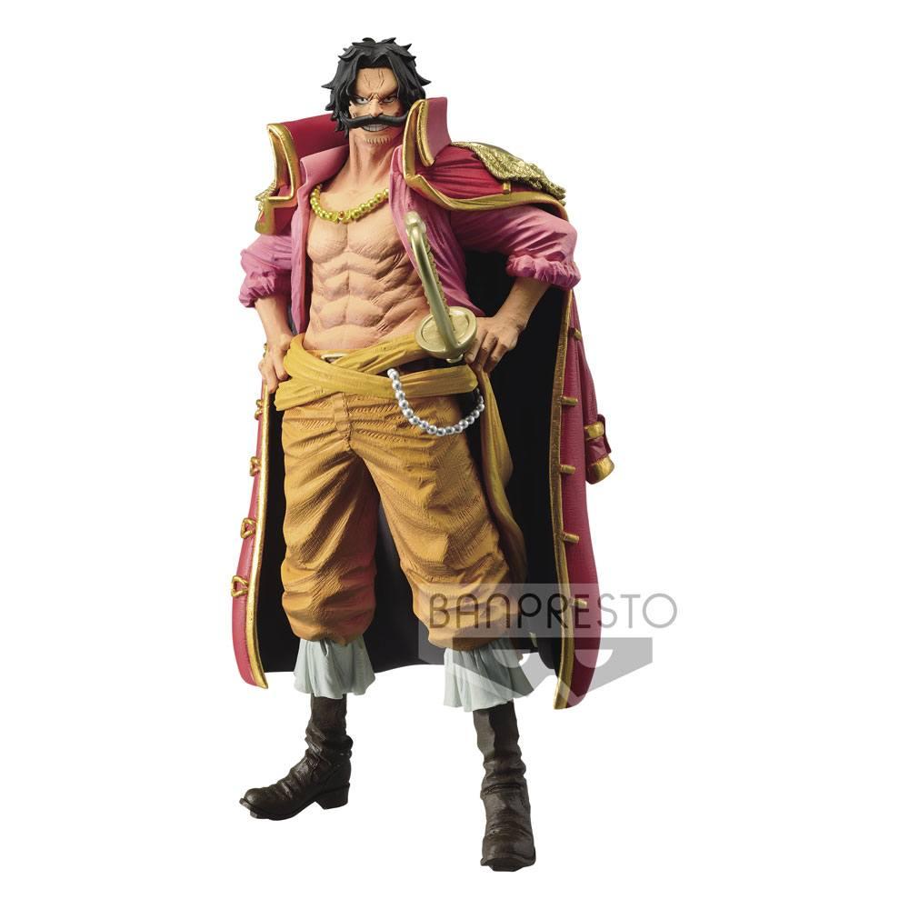 Statuette One Piece King Of Artist Gol D. Roger 23cm