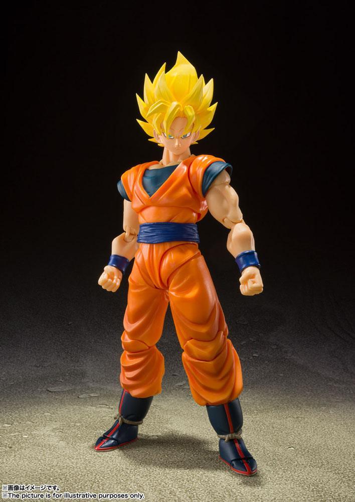 Figurine Dragon Ball Z S.H. Figuarts Super Saiyan Full Power Son Goku 14cm