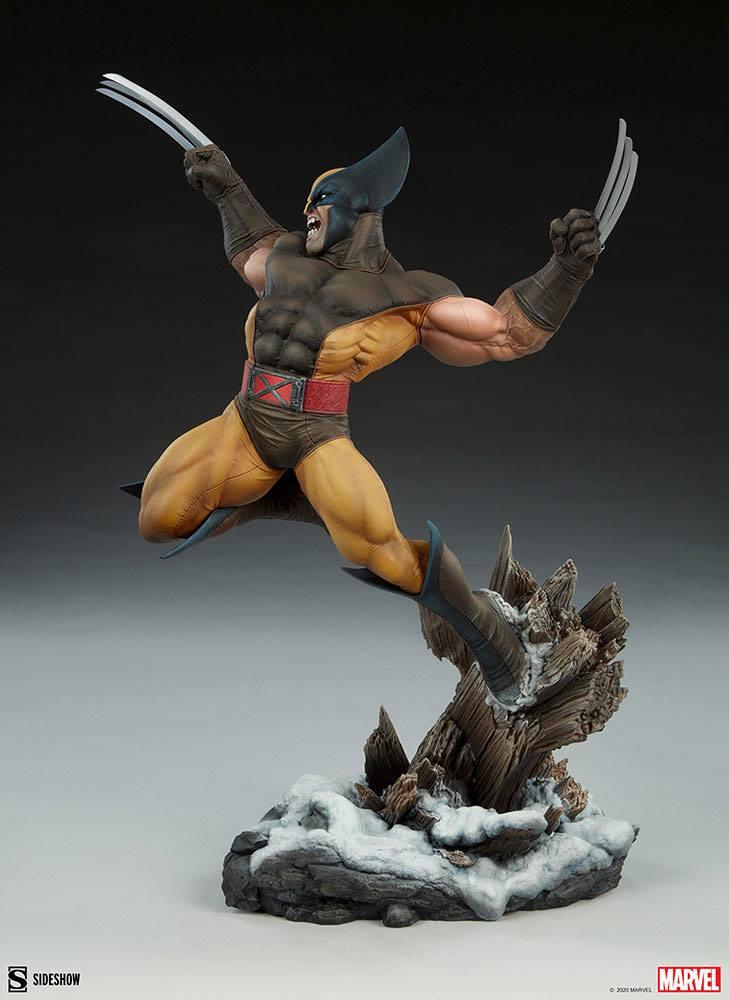 Statuette Marvel Premium Format Wolverine 52cm 1001 Figurines (6)
