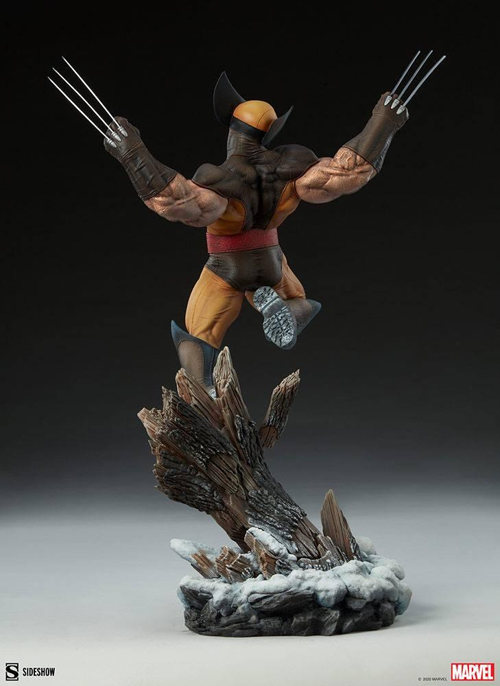 Statuette Marvel Premium Format Wolverine 52cm 1001 Figurines (7)