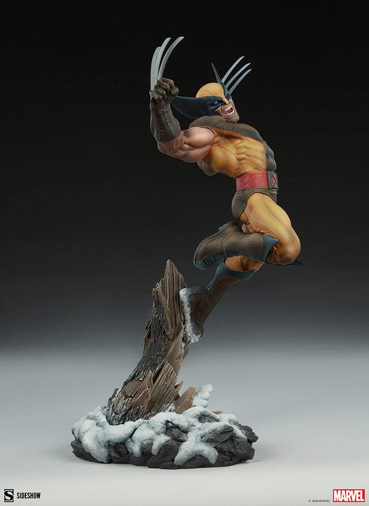 Statuette Marvel Premium Format Wolverine 52cm 1001 Figurines (8)
