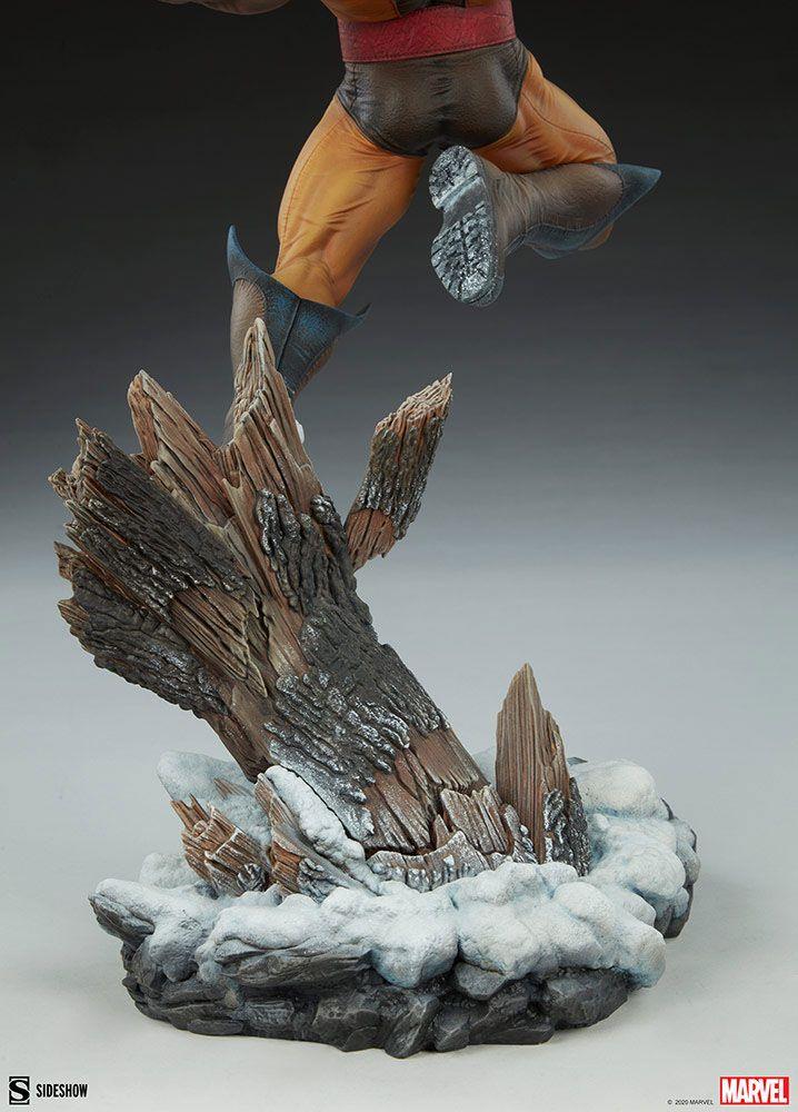 Statuette Marvel Premium Format Wolverine 52cm 1001 Figurines (12)