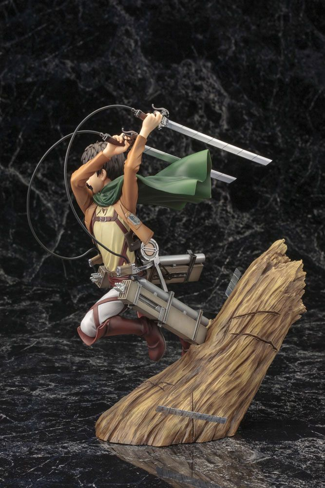 Statuette Attack on Titan ARTFX J Eren Yeager Renewal Package Ver. 26cm 1001 Figurines (5)