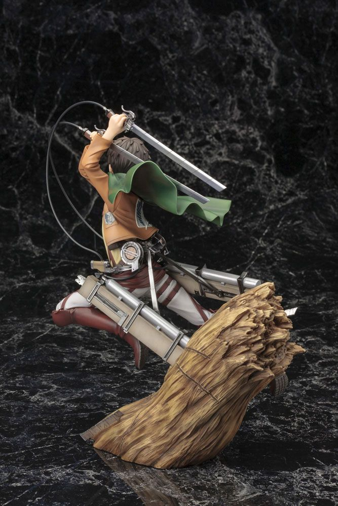 Statuette Attack on Titan ARTFX J Eren Yeager Renewal Package Ver. 26cm 1001 Figurines (6)
