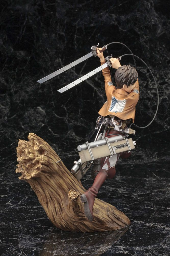 Statuette Attack on Titan ARTFX J Eren Yeager Renewal Package Ver. 26cm 1001 Figurines (16)