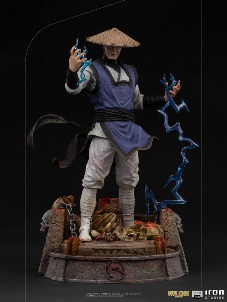 Statuette Mortal Kombat Art Scale Raiden 24cm 1001 Figurines (2)