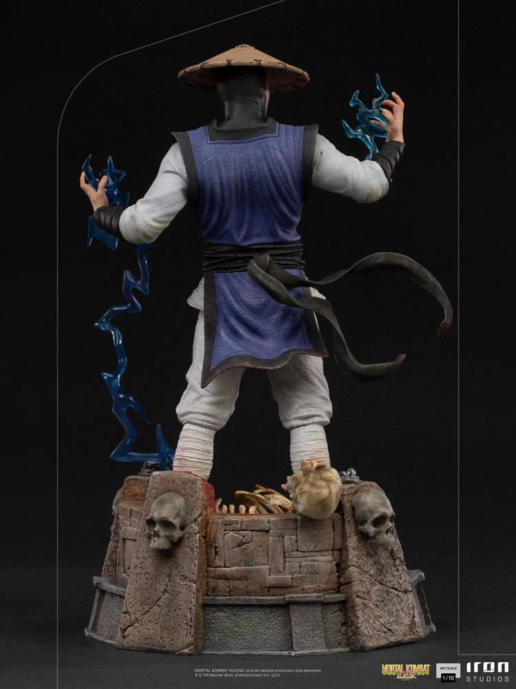 Statuette Mortal Kombat Art Scale Raiden 24cm 1001 Figurines (4)