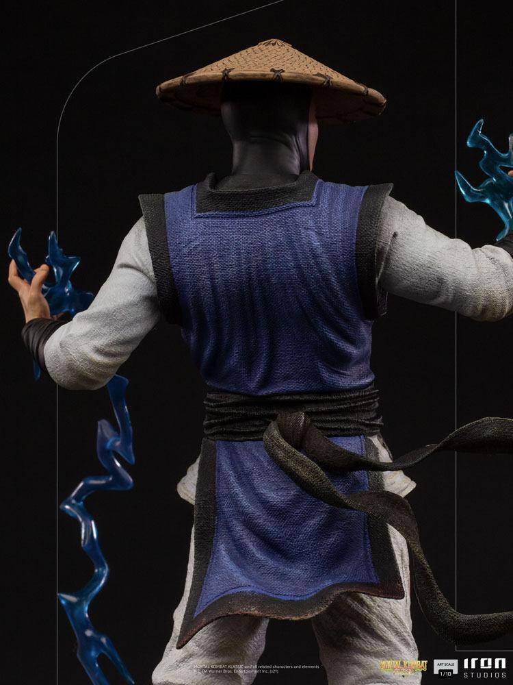 Statuette Mortal Kombat Art Scale Raiden 24cm 1001 Figurines (7)