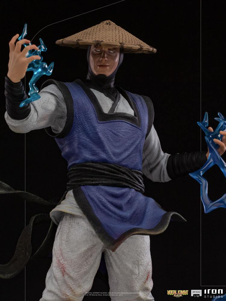 Statuette Mortal Kombat Art Scale Raiden 24cm 1001 Figurines (8)