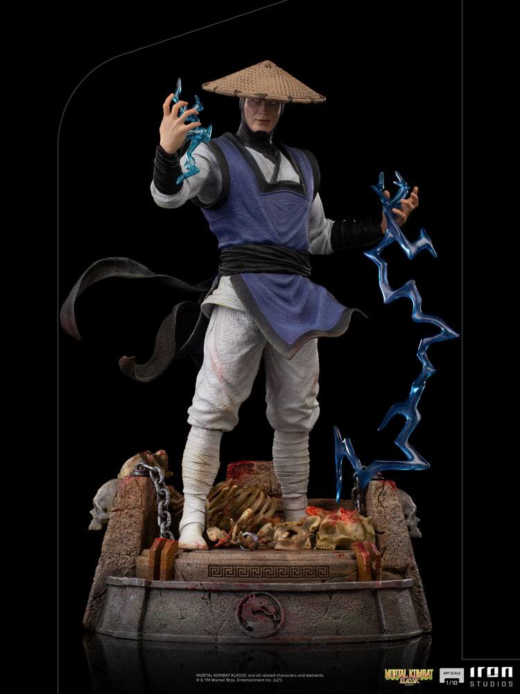 Statuette Mortal Kombat Art Scale Raiden 24cm 1001 Figurines (11)