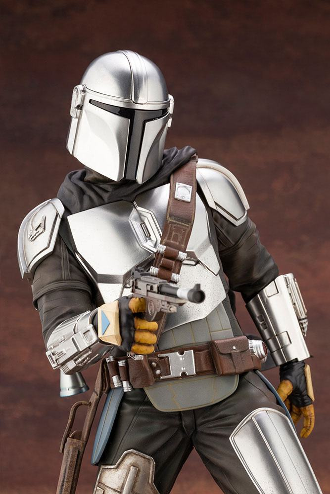Statuette Star Wars The Mandalorian ARTFX Mandalorian & The Child 26cm 1001 Figurines (13)