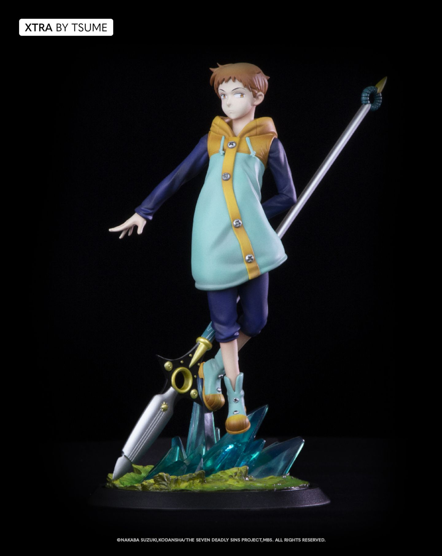 Statuette The Seven Deadly Sins King Xtra by Tsume 19cm