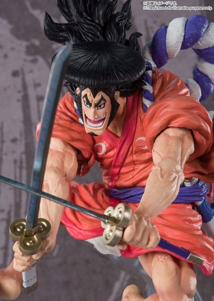 Statuette One Piece Figuarts ZERO Extra Battle Kozuki Oden 30cm 1001 Figurines (5)