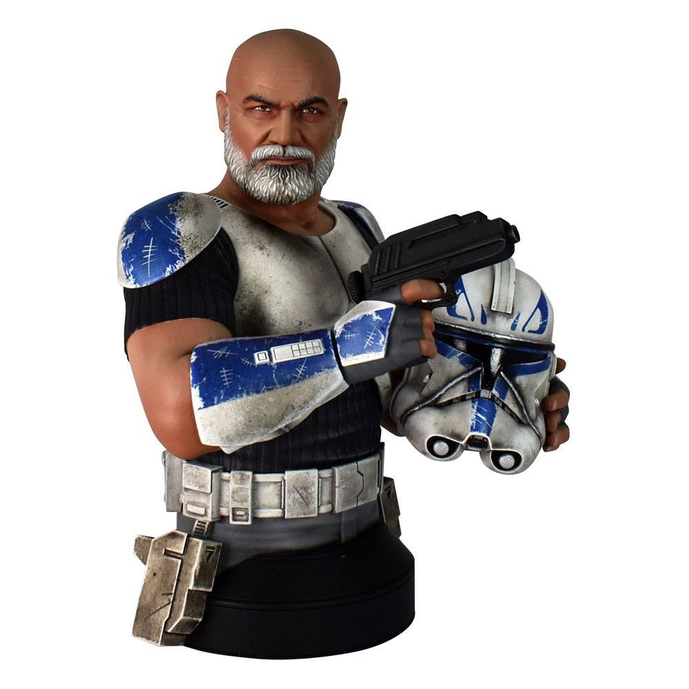 Buste Star Wars The Clone Wars Commander Rex 15cm