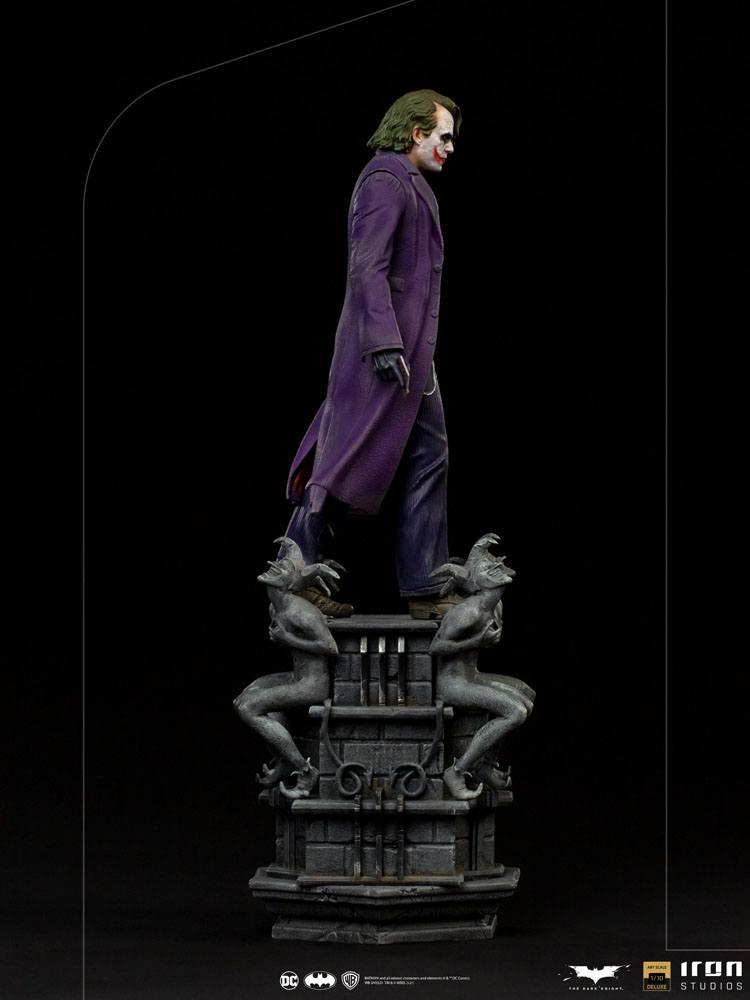 Statuette The Dark Knight Deluxe Art Scale The Joker 30cm 1001 Figurines (3)