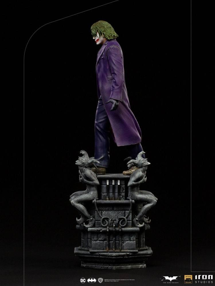Statuette The Dark Knight Deluxe Art Scale The Joker 30cm 1001 Figurines (5)