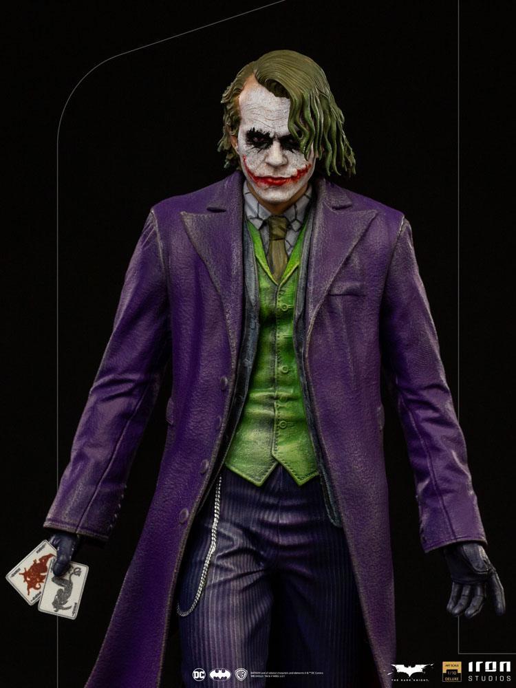 Statuette The Dark Knight Deluxe Art Scale The Joker 30cm 1001 Figurines (7)