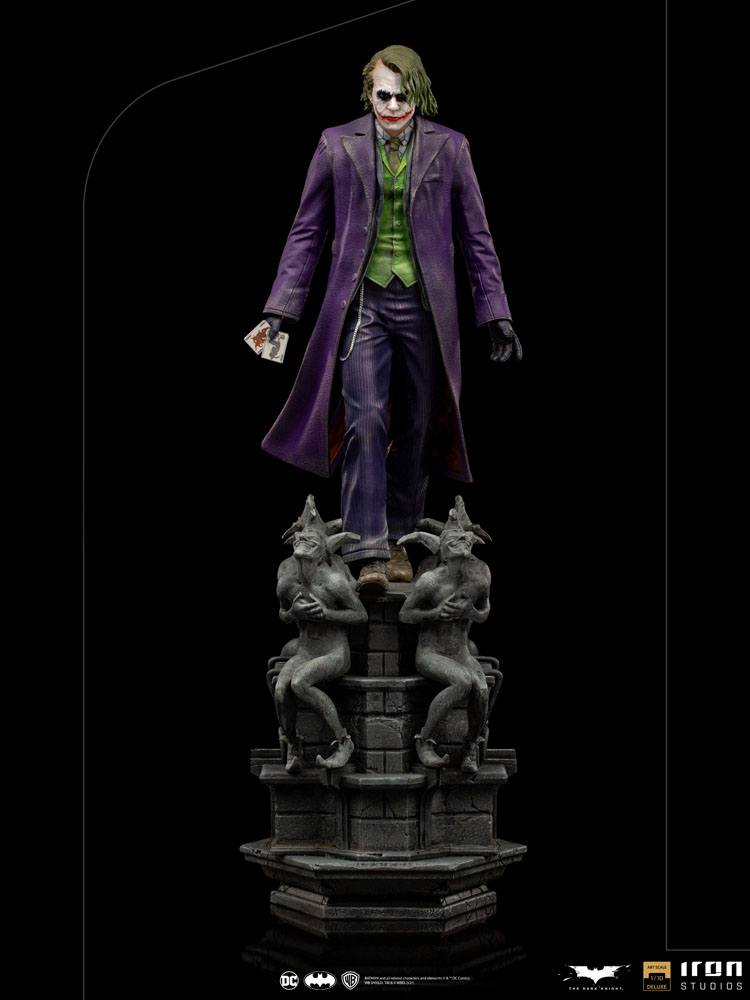 Statuette The Dark Knight Deluxe Art Scale The Joker 30cm 1001 Figurines (11)