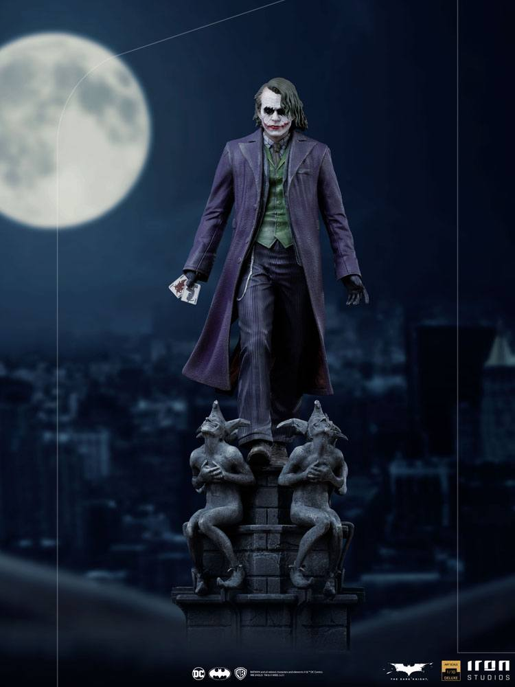 Statuette The Dark Knight Deluxe Art Scale The Joker 30cm 1001 Figurines (12)