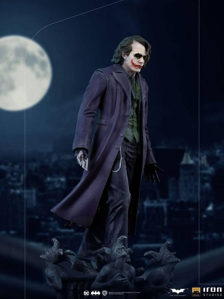 Statuette The Dark Knight Deluxe Art Scale The Joker 30cm 1001 Figurines (13)