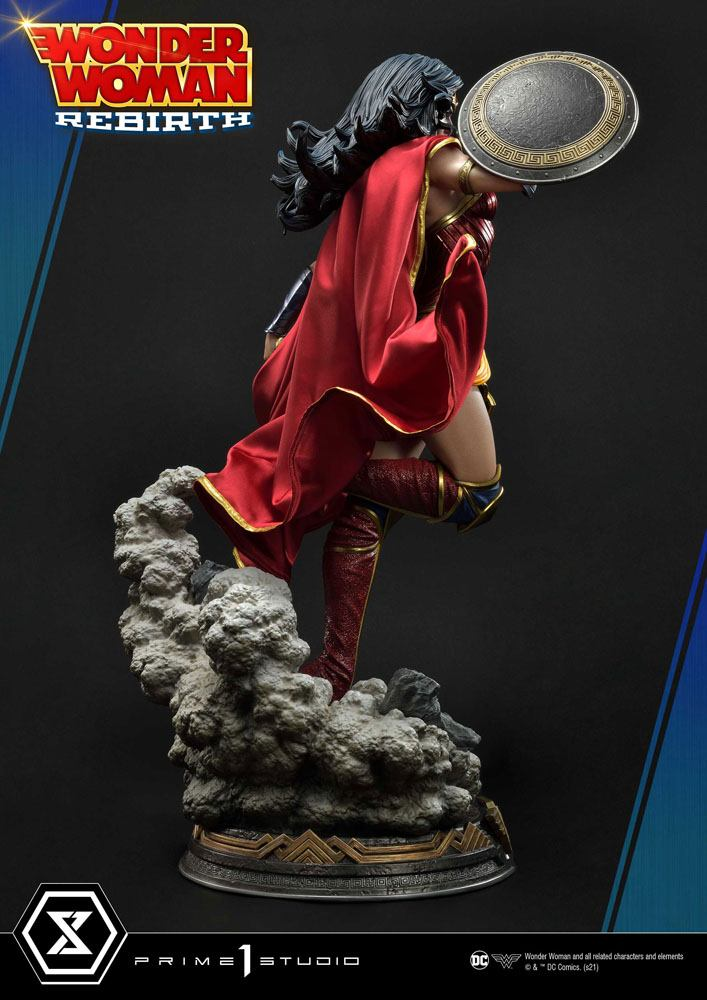 Statue DC Comics Wonder Woman Rebirth 75cm 1001 Figurines (2)