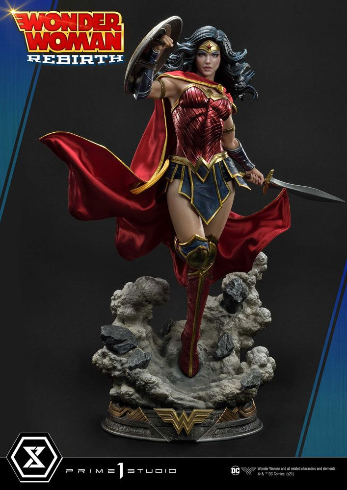 Statue DC Comics Wonder Woman Rebirth 75cm 1001 Figurines (1)