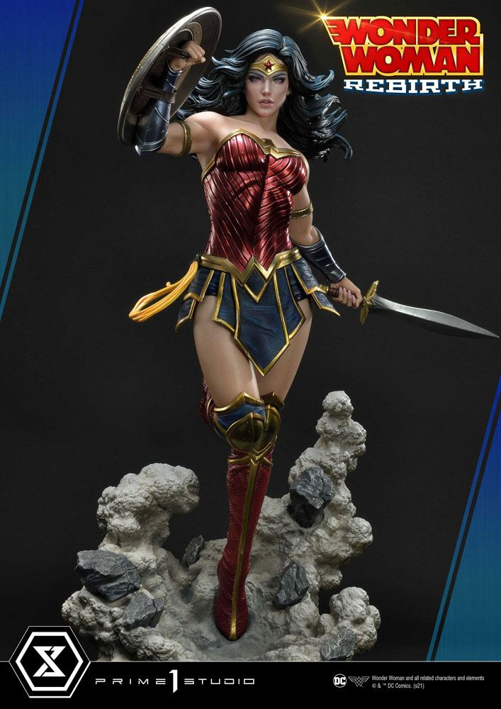 Statue DC Comics Wonder Woman Rebirth 75cm 1001 Figurines (8)
