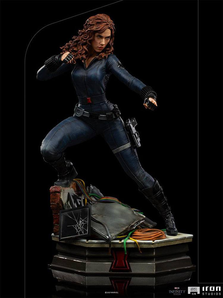 Statuette Avengers Infinity War Legacy Replica Black Widow 46cm 1001 Figurines (10)