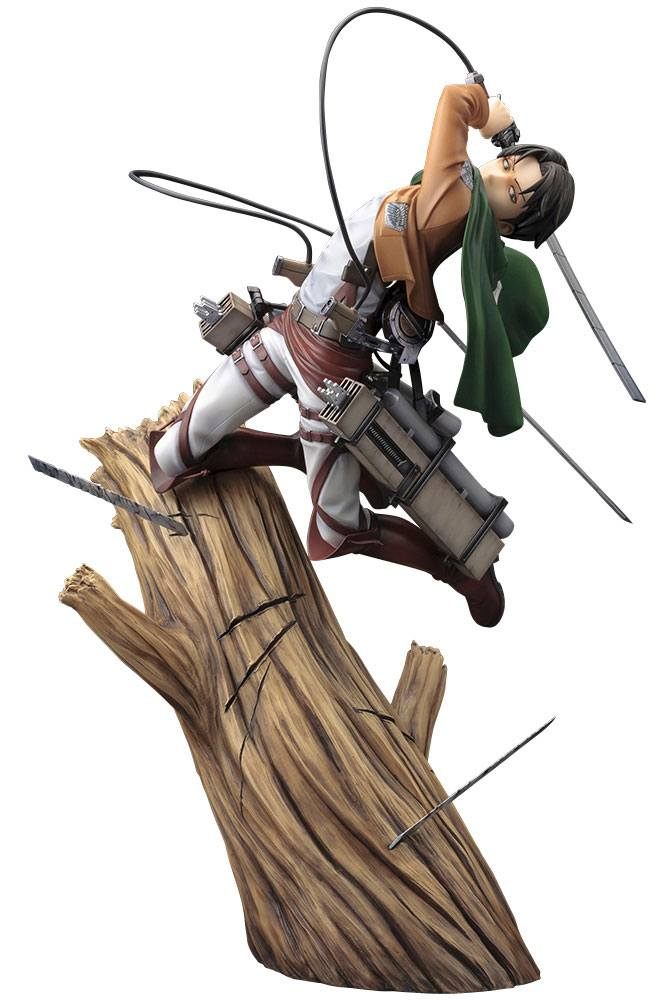Statuette Attack on Titan ARTFXJ Levi Renewal Package Ver. 28cm