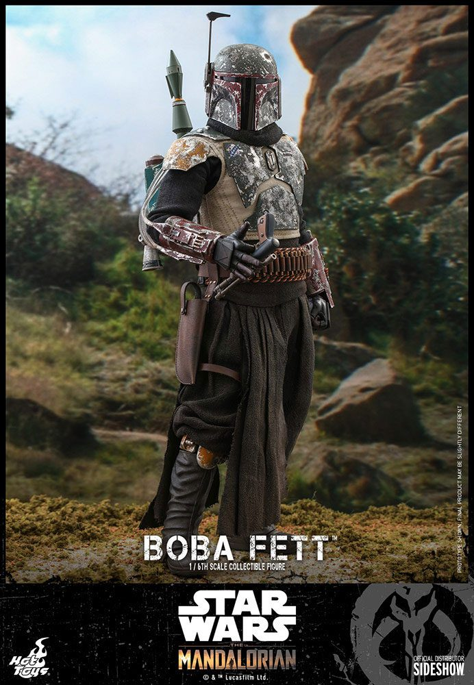 Figurine Star Wars The Mandalorian Boba Fett 30cm