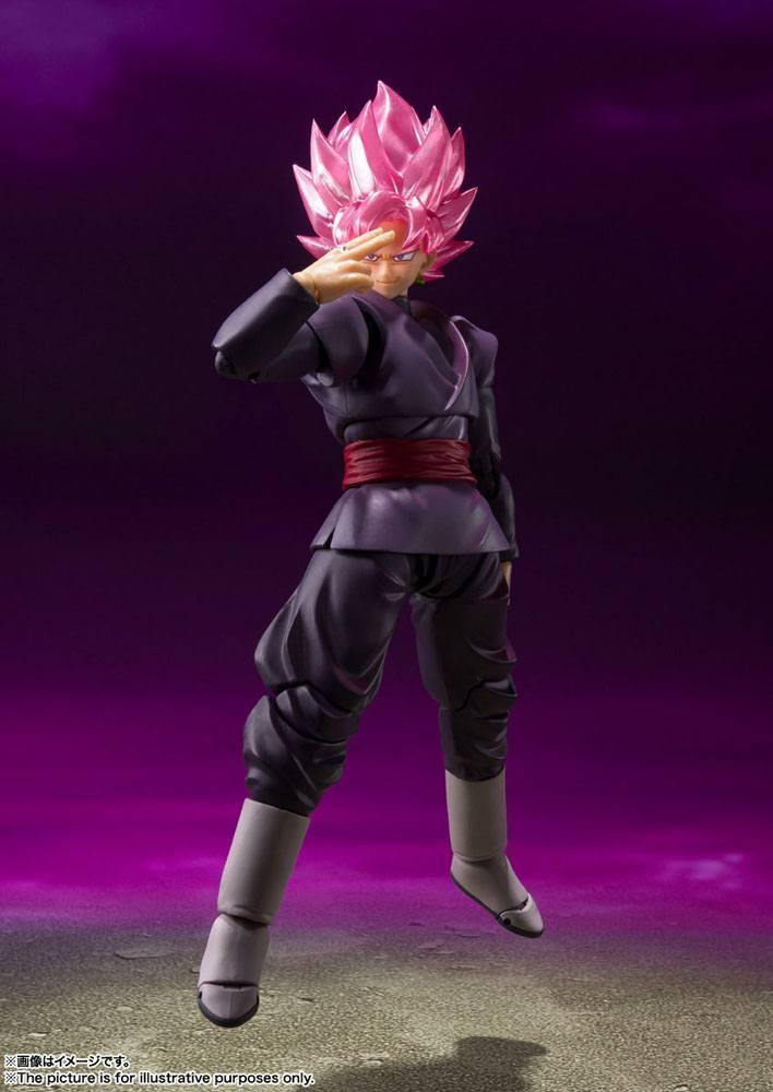 Figurine Dragon Ball Super S.H. Figuarts Goku Black Super Saiyan Rose 14cm