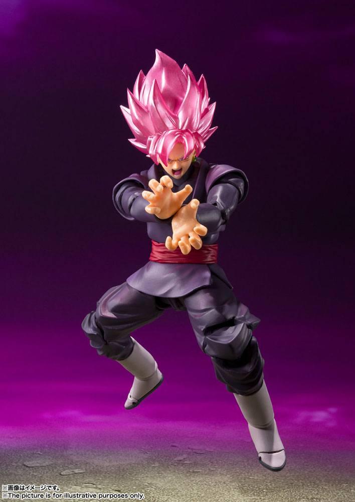 Figurine Dragon Ball Super S.H. Figuarts Goku Black Super Saiyan Rose 14cm 1001 Figurines (3)