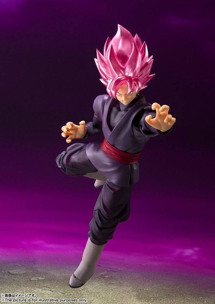 Figurine Dragon Ball Super S.H. Figuarts Goku Black Super Saiyan Rose 14cm 1001 Figurines (4)