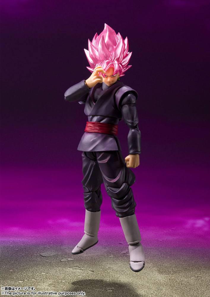 Figurine Dragon Ball Super S.H. Figuarts Goku Black Super Saiyan Rose 14cm 1001 Figurines (6)